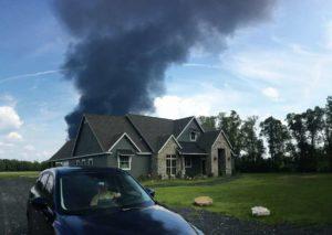 Arkema Plant fire in Crosby, Texas