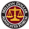 Logo of the Million Dollar Advocates Forum