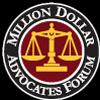 Logo of the Million Dollar Advocates Forum