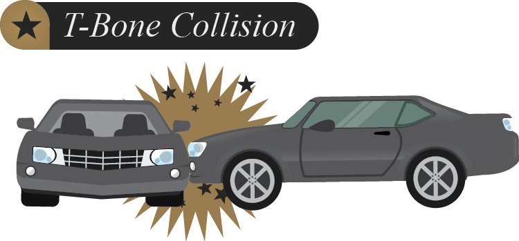 T-bone car collision