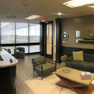 Office reception area at The Pinkerton Law Firm